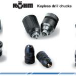 Broqueros sin llave, sujeción confiable para procesos de perforación