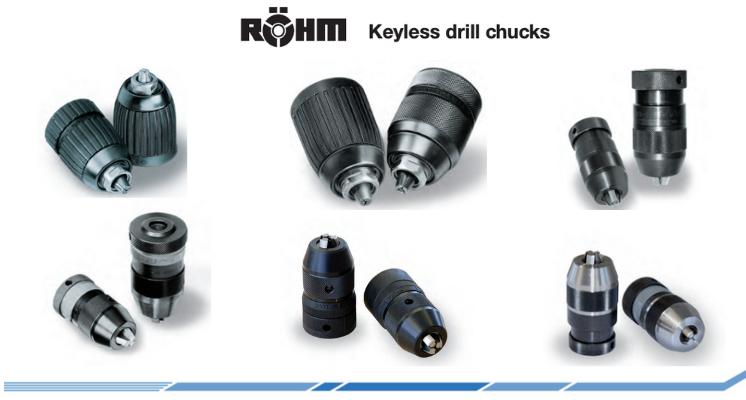 Portabrocas sin llave, sujeción confiable para procesos de perforación